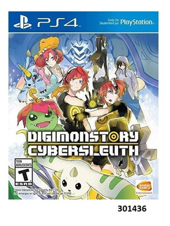 Digimon Story Cyber Sleuth Playstation 4 W15
