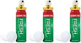 3 X Spray De Respiración De Respiración De Menta Fresca An