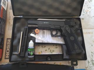 Pistola Airsoft Gás Gnb 1911 Colt