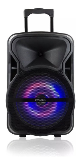 Caixa De Som Amplificada Multiuso Frahm Cm 600 Bluetooth Usb