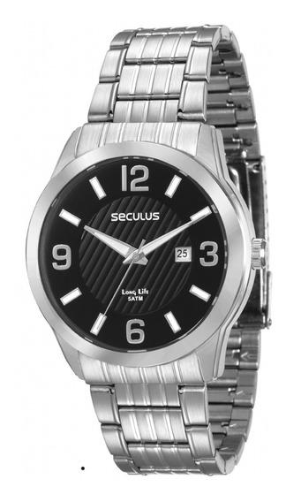 Relógio Seculus Masculino 28837g0svna1, C/ Garantia E Nf