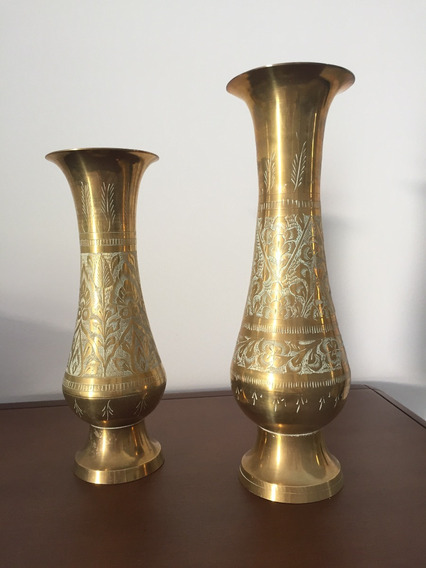 Conjunto De Vasos Decorativos Usados Antiguidade