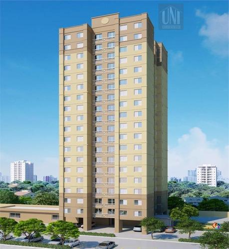 Apartamento Com 2 Dormitórios À Venda, 50 M² Por R$ 262.131,00 - Parque Erasmo Assunção - Santo André/sp - Ap0100