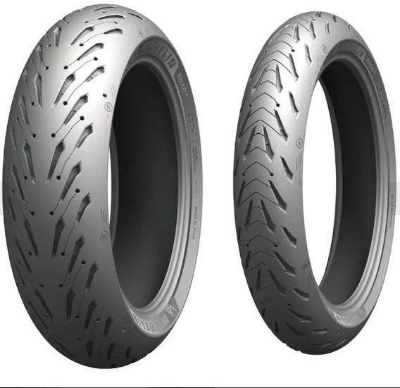 Par Pneu Fazer 600 Michelin Pilot Road5 190/50-17+ 120/70-17