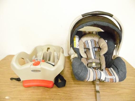 Silla Base Car Seat Portabebe 0-12 Meses Graco Snugride J117