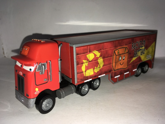 Disney Cars Recycled Batteries Hauler Raro