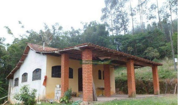 Chácara Com 3 Dormitórios À Venda, 140 M² Por R$ 270.000 - Cedro - Paraibuna/sp - Ch0332