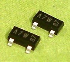 Pack X5 Unidades Bav99 Bav 70v 200ma A7 Sot23-3