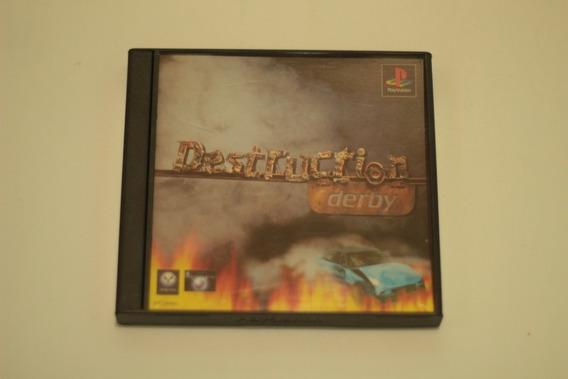 Destruction Derby Original Playstation 1 Ps1 Frete Gratis