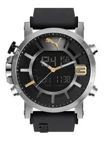 Relógio Puma Anadigi Ultrasize Masculino Original