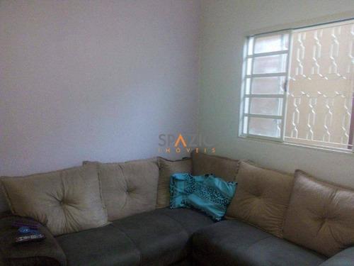 Imagem 1 de 10 de Casa Residencial À Venda, Consolação, Rio Claro. - Ca0019