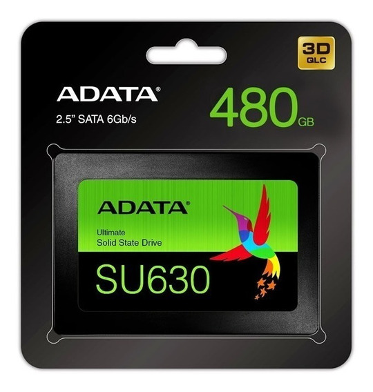 *disco Solido Adata 480gb Su630
