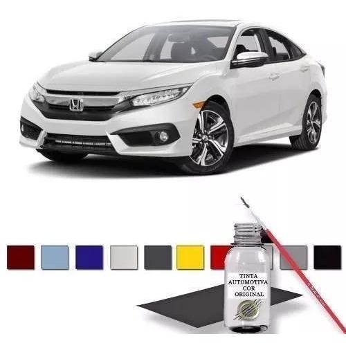 Retoque Tinta Automotiva Branco Taffeta Honda Civic Fit Crv