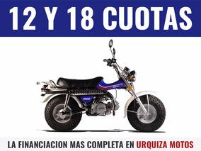 Moto Playera Mondial Rv 125 Arenera Patona 0km Urquiza Motos