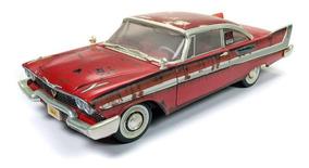 Miniatura Carro Plymouth Fury 1958 Christine 1:18 Auto World