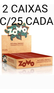 Seda Smoking Brown Zomo Atacado Revenda 1 Caixas Com 50x33