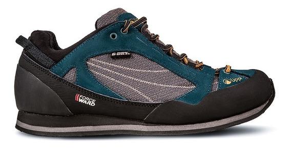 Zapato Hombre Lippi Terray Low Azul Mostaza