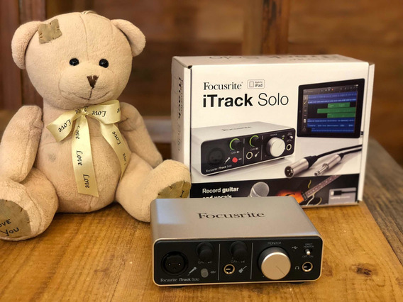 Interface Focusrite Itrack Solo + Pro Tools First