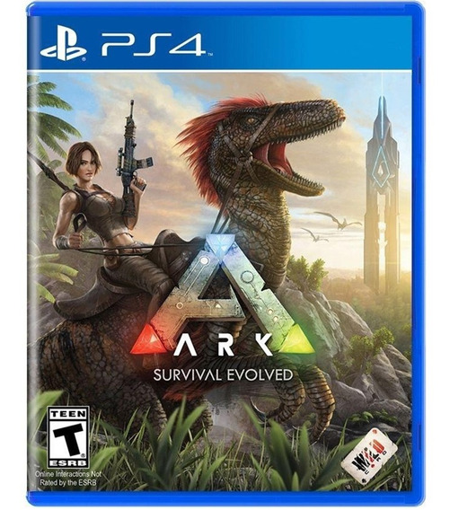 Game Ark Survival Evolved Ps4 Midia Fisica Original Nacional