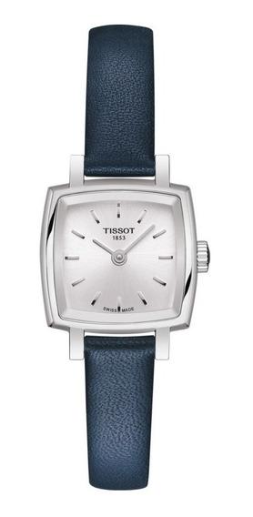 Reloj Tissot Lovely Square Piel Para Dama Ghiberti
