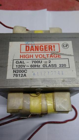 Transfomador Sensor Gal-700u-2 120v Glass 220