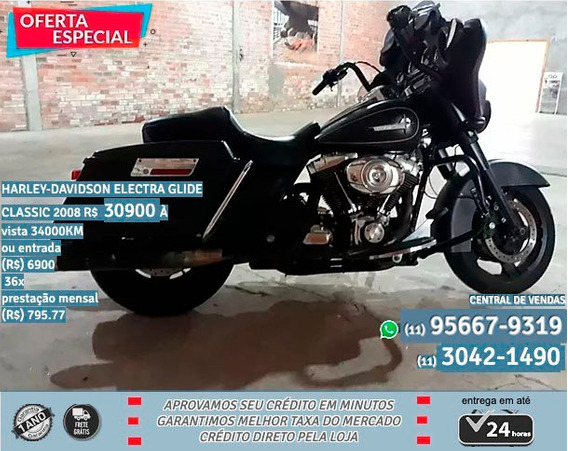 Harley-davidson Eletra Glide Classic