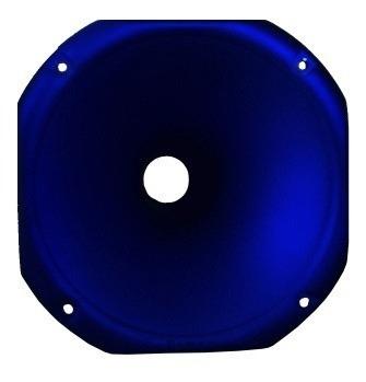 Corneta Tiro Longo Redonda Fiamon 1425 Azul Fosco 1 Polegada