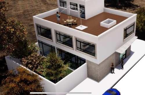 Venta De Casa En Condominio Con Proyecto Para Remodelar