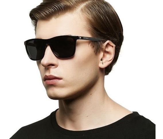 Óculos Escuros Masculino Polarizado Quadrado Veithdia Uv