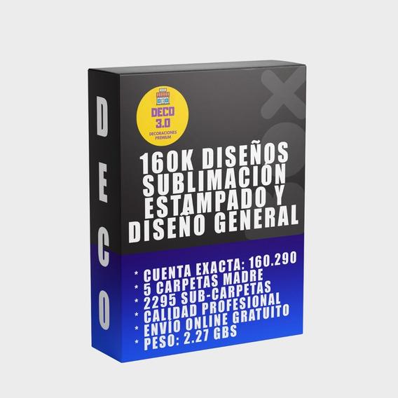 160.000 Vectores Sublimacion, Estampado, Diseño Gráfico Etc