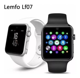 Smartwatch Lemfo Lf07 Relógio Inteligente Com Suporte P/chip