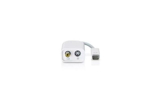 Cabo Apple Mini Dvi/m X S-vídeo/f + Rca/f M9319g/a