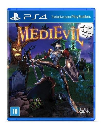 Imagen 1 de 8 de Medievil Sony Ps4 Físico Juego Sellado Original Sevengamer