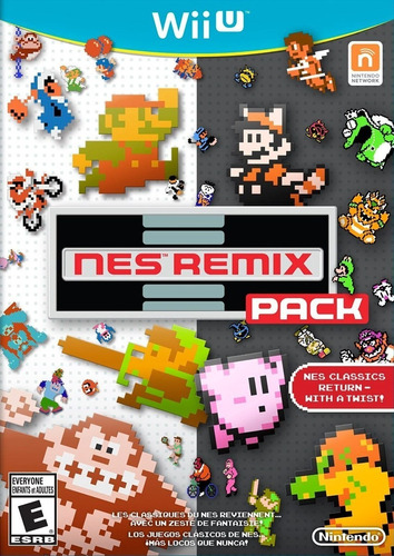 Nes Remix Zelda + Mario Bros + Metroid 25 Juegos Wii U Cdkey