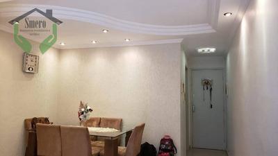Apartamento Com 3 Dormitórios À Venda, 64 M² Por R$ 320.000 - Jaguaré - São Paulo/sp - Ap3506