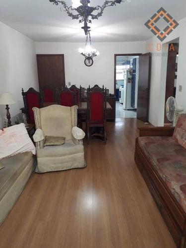 Apartamento Com 2 Dormitórios À Venda, 100 M² Por R$ 650.000,00 - Pompeia - São Paulo/sp - Ap43619