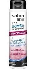 Sos Bomba De Vitaminas Condicionador Salon Line
