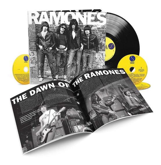 Ramones-ramones 40 Aniversario Deluxe Edition Nuevo En Stock
