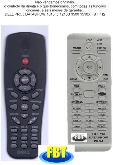 Controle Dell Proj Datashow 1610hd 1210s 3500 1510x 288f712