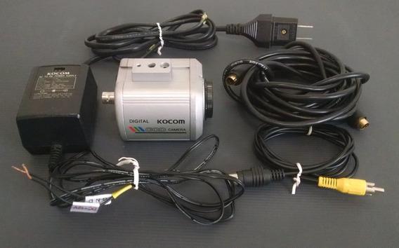 Camera Digital Kocom Kcc-310 Ccd Para Microscópio Ou Lupa
