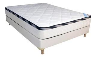 Sommier Inducol Onix 2 plazas 190x130cm blanco