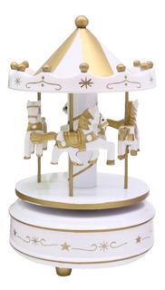 My Carrusel Caja Musical Niñas Baby Shower Juguetes 2203-1 Bebe Relajación Decoración Hogar Oficina Recamara Regalo