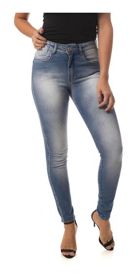 Calça Jeans Osmoze Mid Rise Skinny 23052 Un Azul