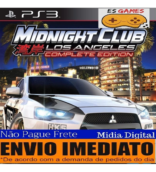 Midnight Club: Los Angeles Complete Edition - Psn Ps3 Oferta
