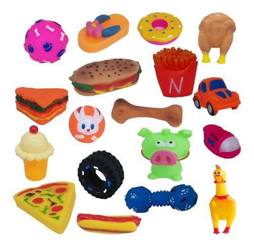Brinquedos Pra Cachorros Kit Com 12 Un Imperdivel