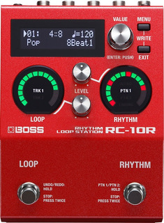 Boss Rc-10r Loop Station Con Ritmos Y Capacidad De 99 Frases