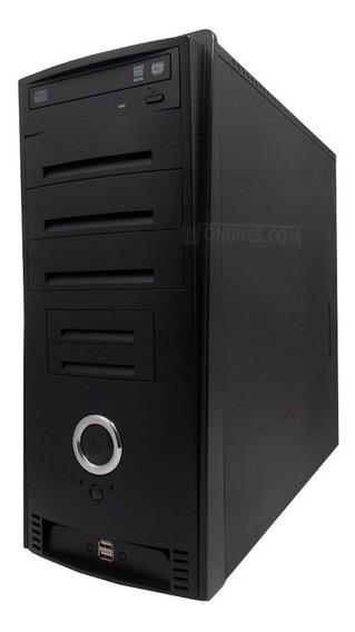 Gabinete Processador Intel Core 2 Duo E6750 Memória Ram 2gb