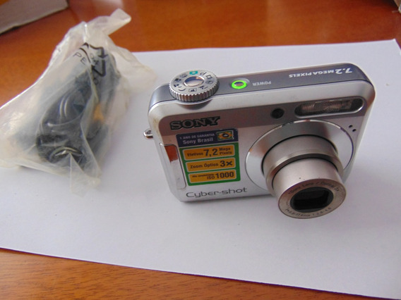 Sony Cyber-shot Dsc-s650 7.2 Megapixels