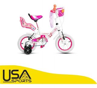 Bicicleta Top Mega Princess Rd 12