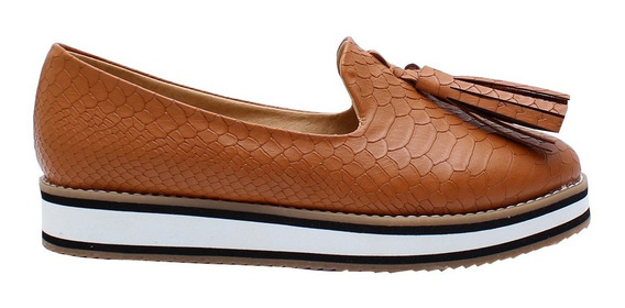 Zapatos Flats Mocasines Para Dama Mona 6016